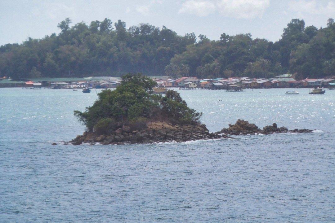 Zarpando de Kota Kinabalu