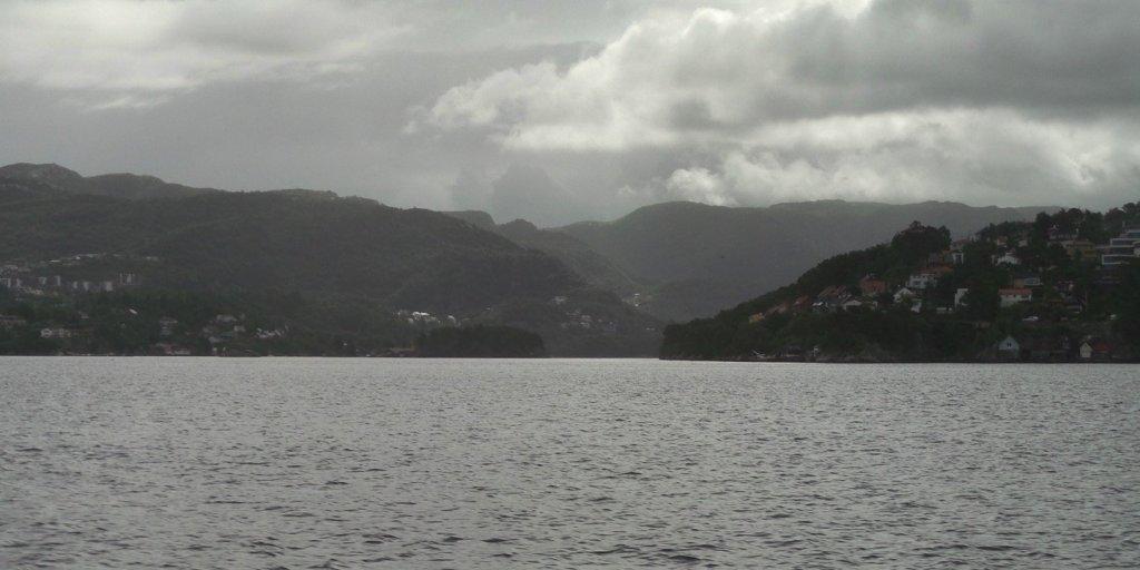 Saliendo de Bergen