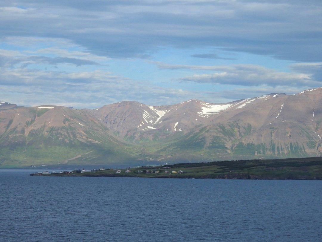 Extremo sur de la isla deHrísey