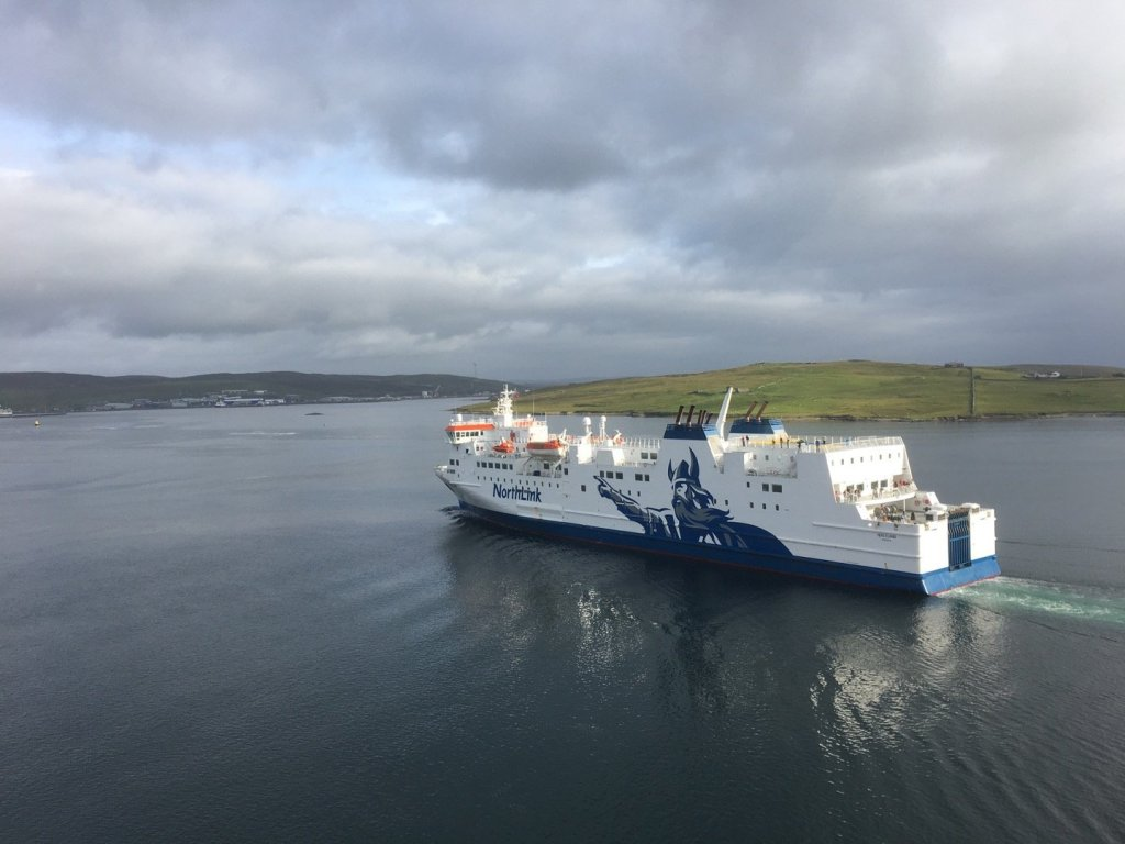Ferry en Bressay Sound
