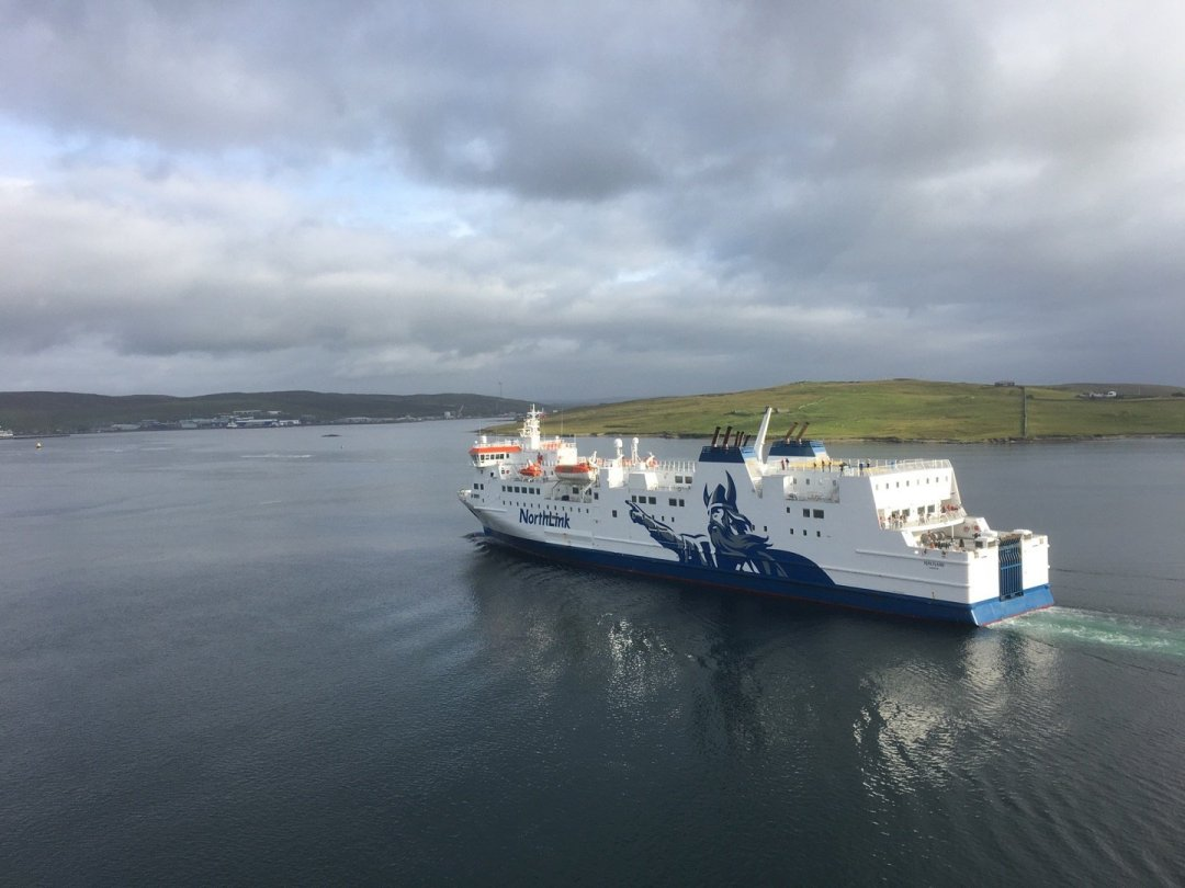 Ferry en Bressay Sound