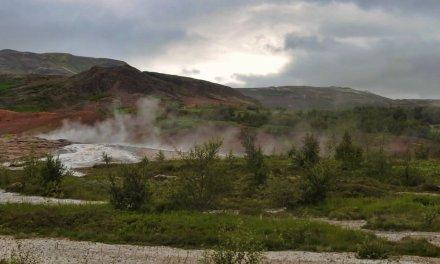 En el valle de Haukadalur