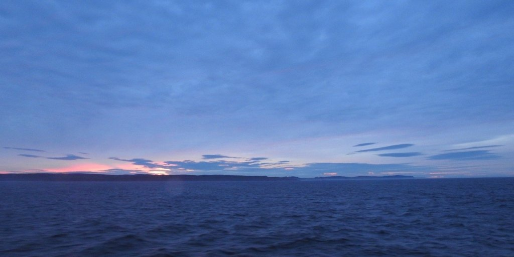 Crepúsculo frente a Terranova