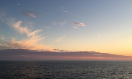 Atravesando el Callejón de los Icebergs