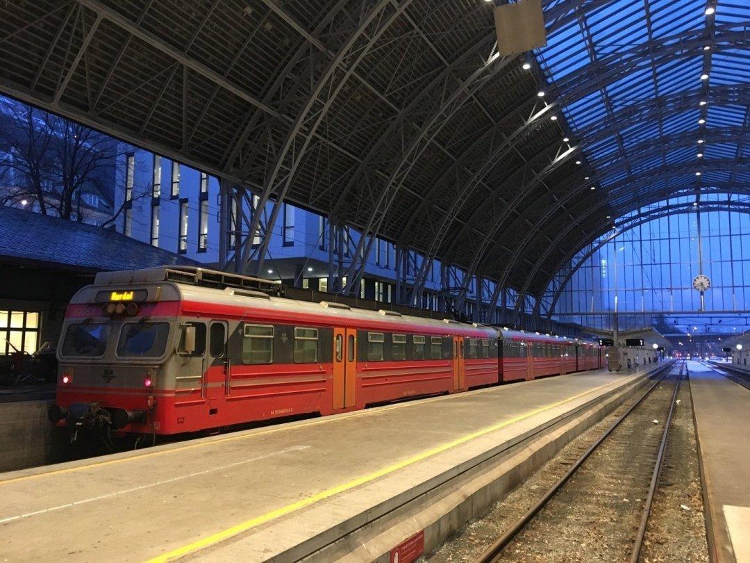 Tren con destino Myrdal