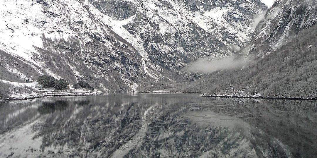 Llegando a Bakkasundet