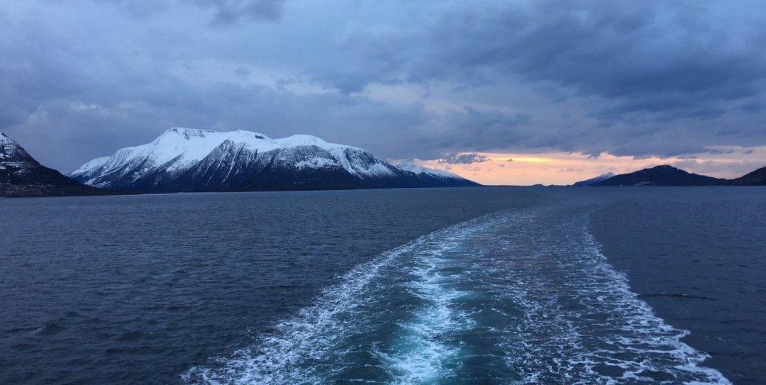 Atardecer en el Midfjorden