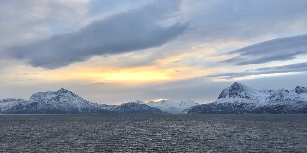 Invierno en el Vågsfjorden