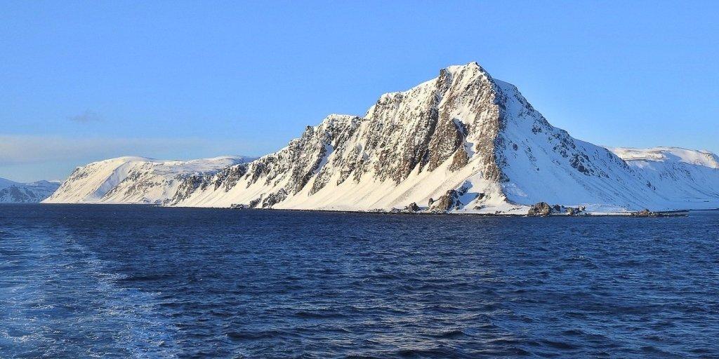 Bismarhallen, en el sur de Magerøya
