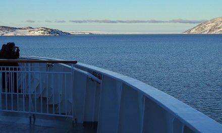 Hurtigruten en invierno. Día 7: Båtsfjord – Berlevåg