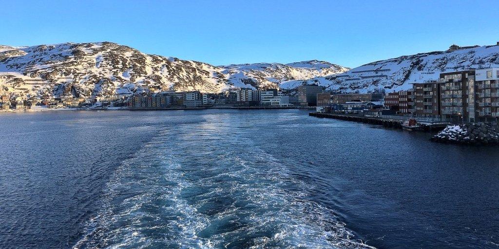 Zarpando de Hammerfest