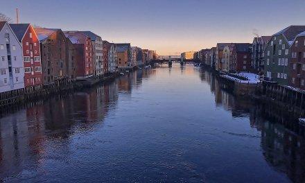 Breve paseo invernal por Trondheim