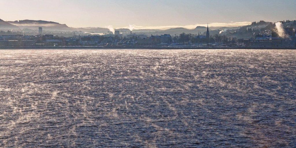 Zarpando de Trondheim