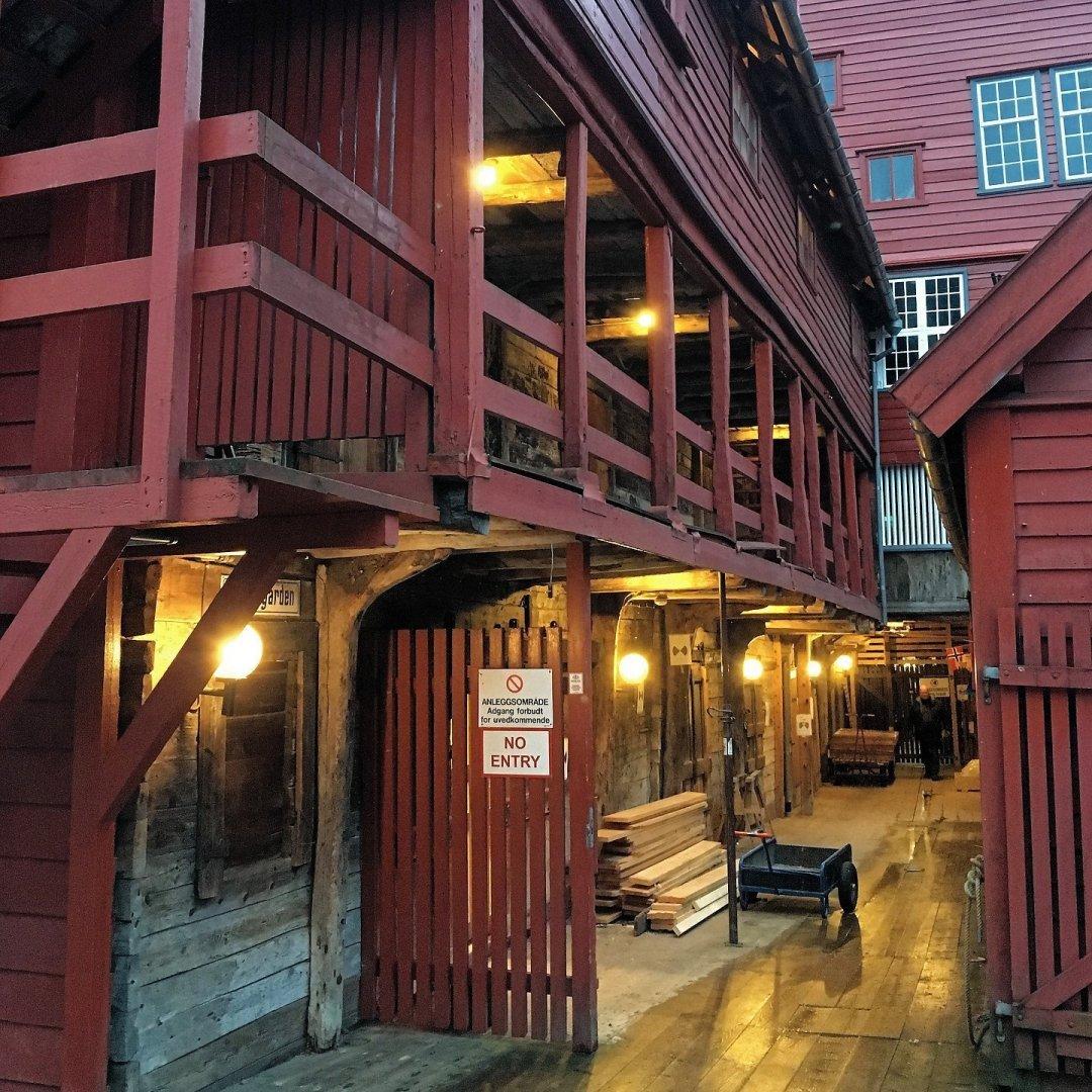 Carpintería en Bryggen