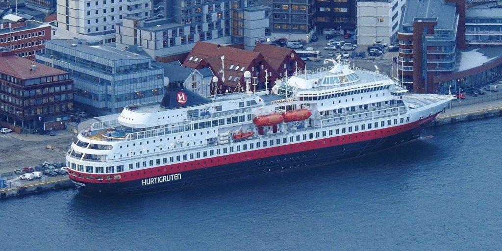 El MS Finmarken en Tromsø