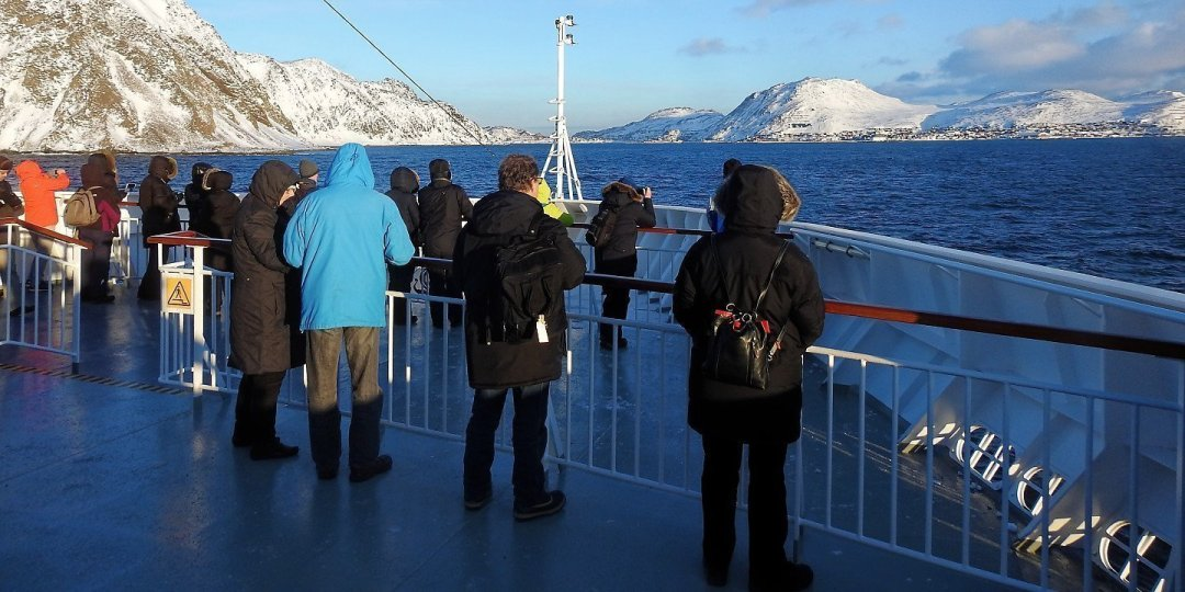 Llegando a Honningsvåg
