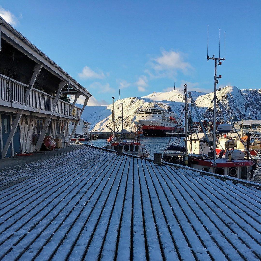 Muelles de Honningsvåg