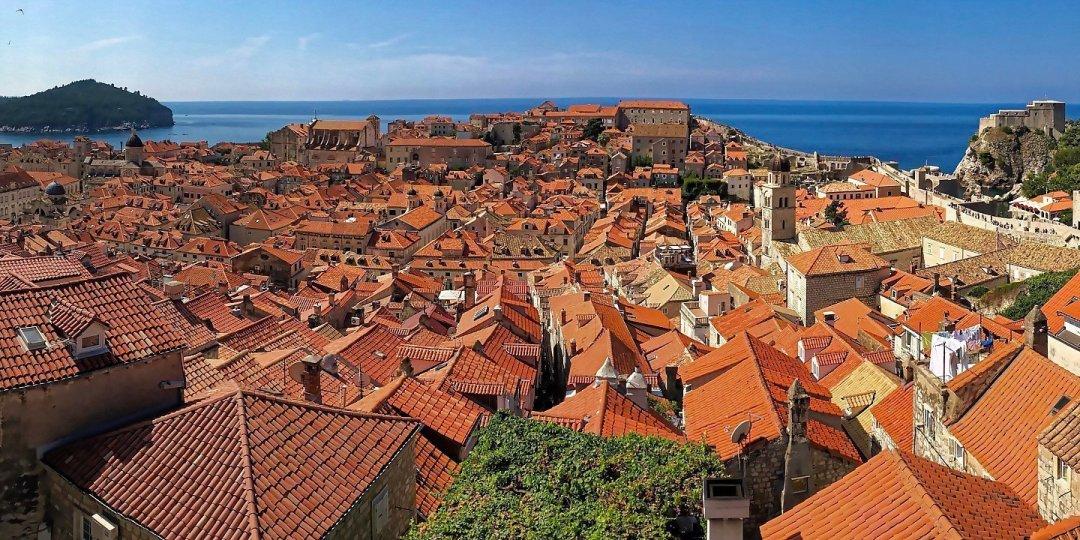 Dubrovnik desde la muralla septentrional