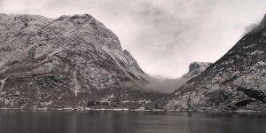 Nærøyfjord en invierno