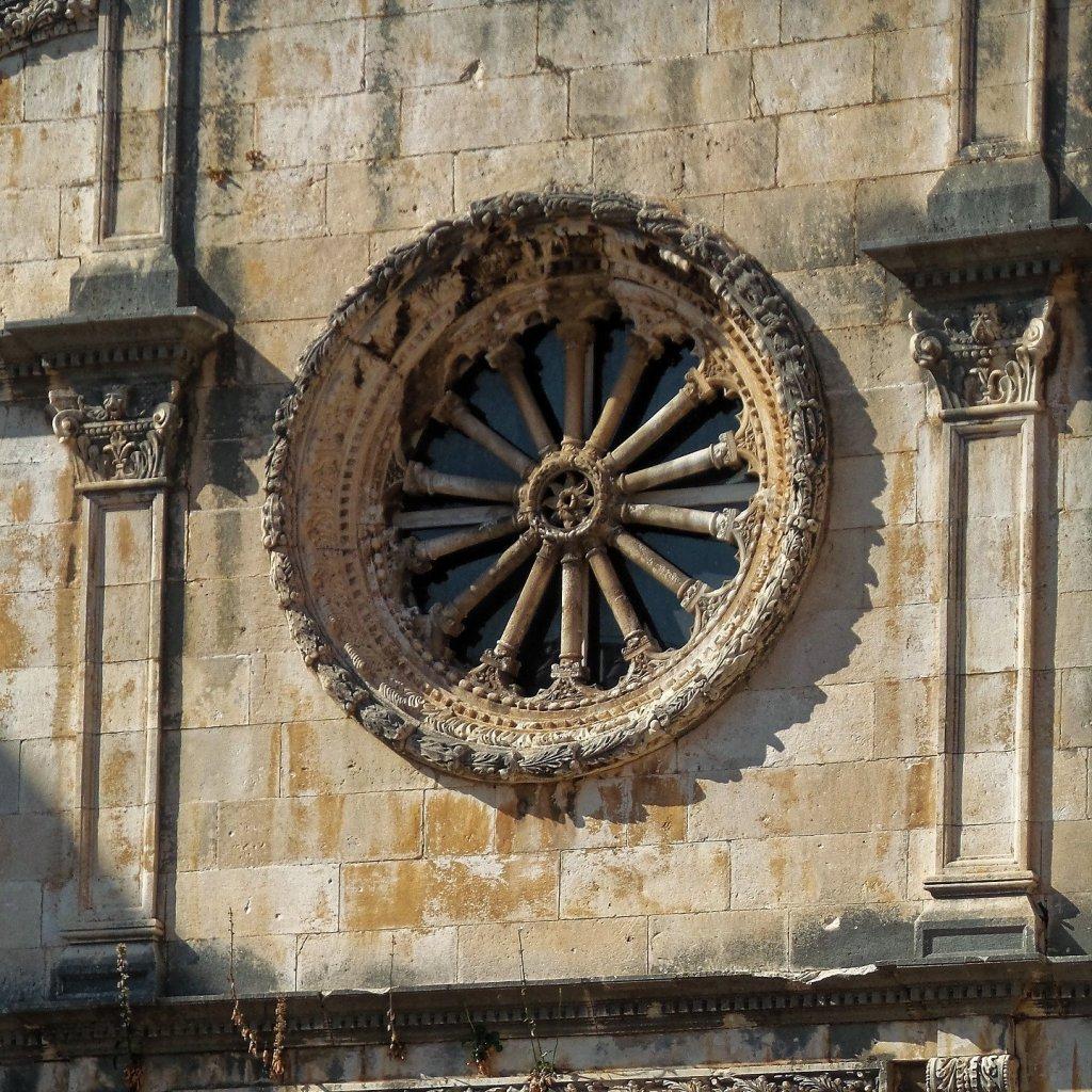 Rosetón de la iglesia de San Salvador