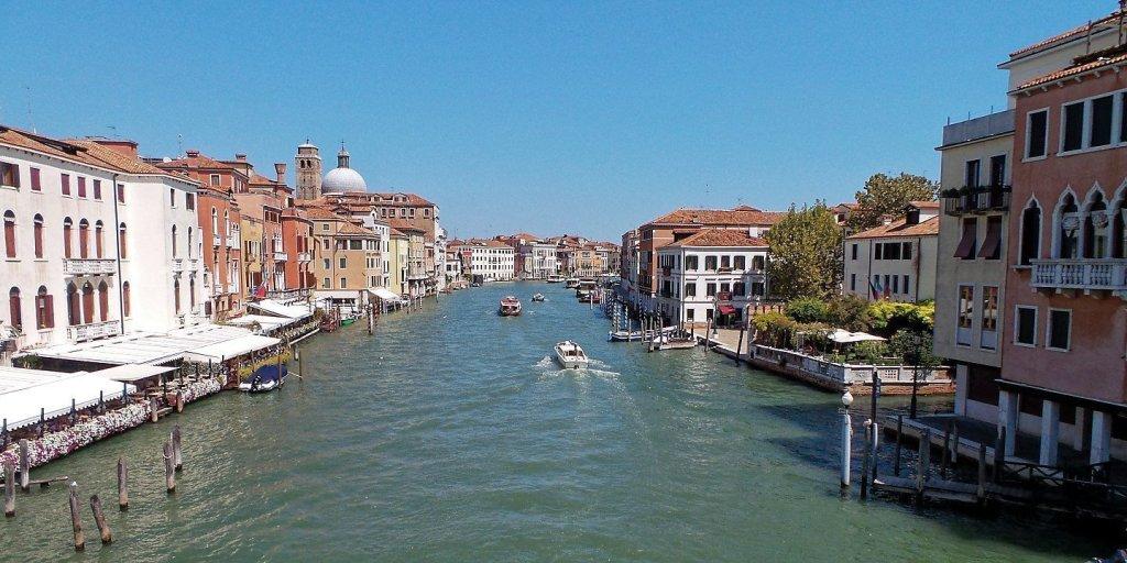 El Gran Canal desde el Puente de los Descalzos