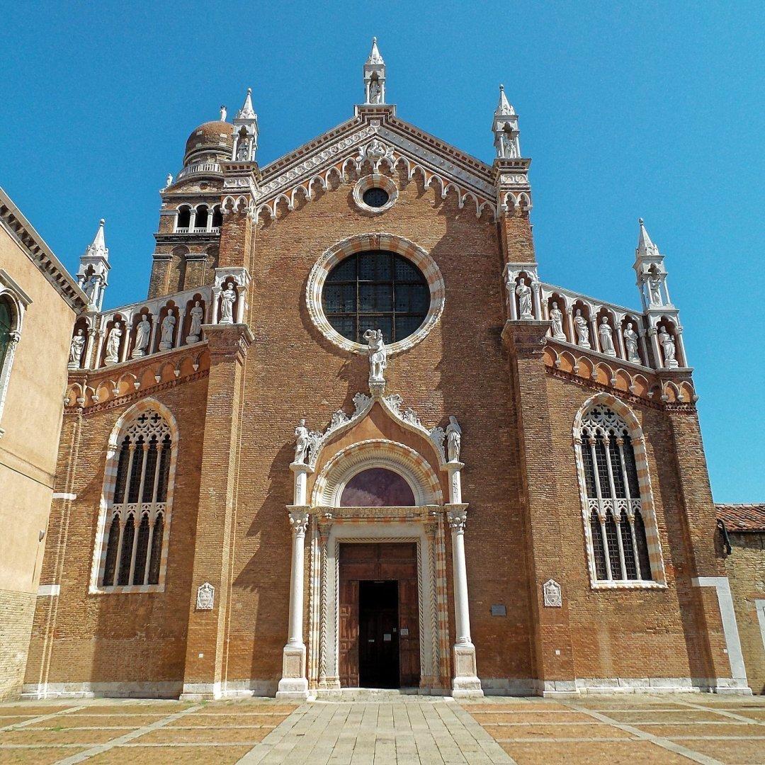 Fachada de la Madonna dell'Orto
