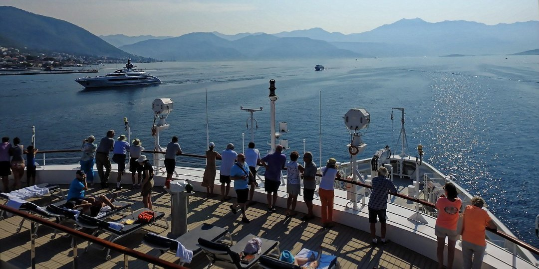 Navegando rumbo a Kotor
