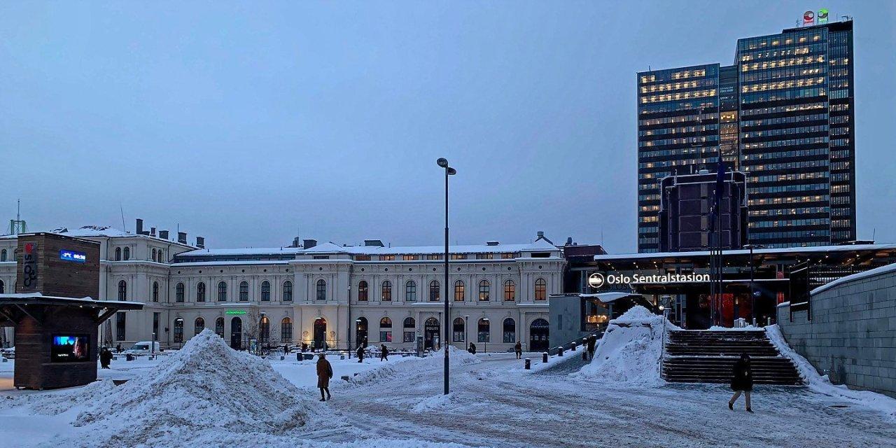 Un día de invierno en Oslo