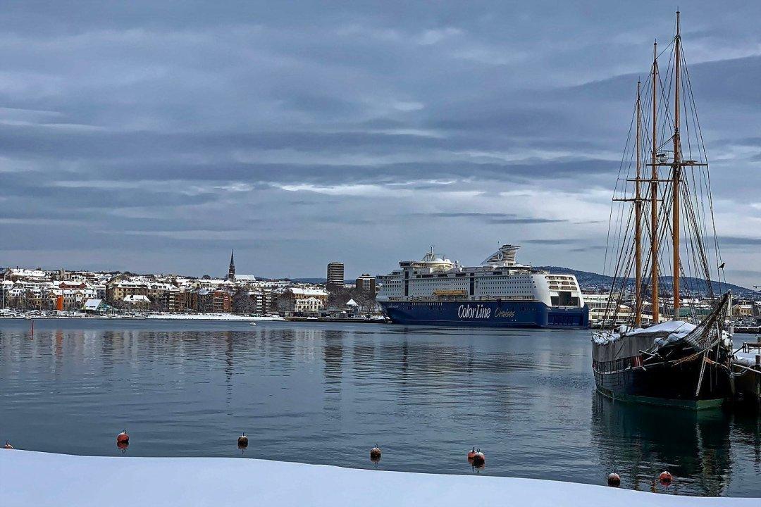 Oslo desde la península de Bygdøy