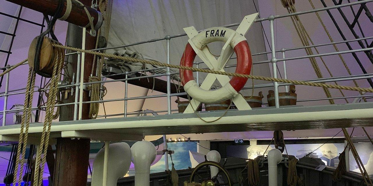 En el museo del Fram
