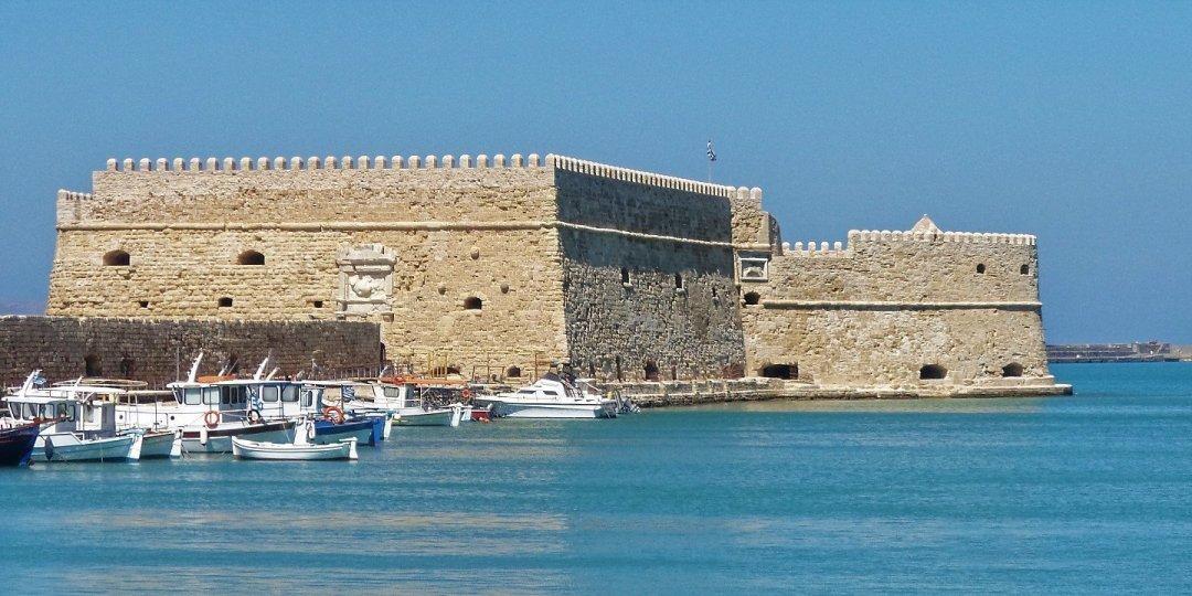 Rocca a Mare en Heraclión (Creta)