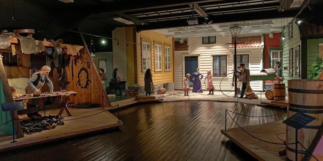 Dioramas en el Museo de Stavanger