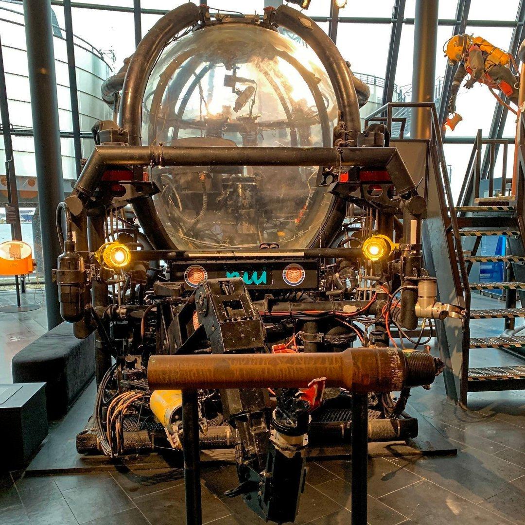 Vehículo de mantenimiento submarino