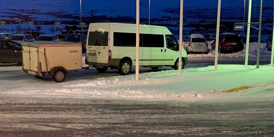 El autobús de Egilsstaðir