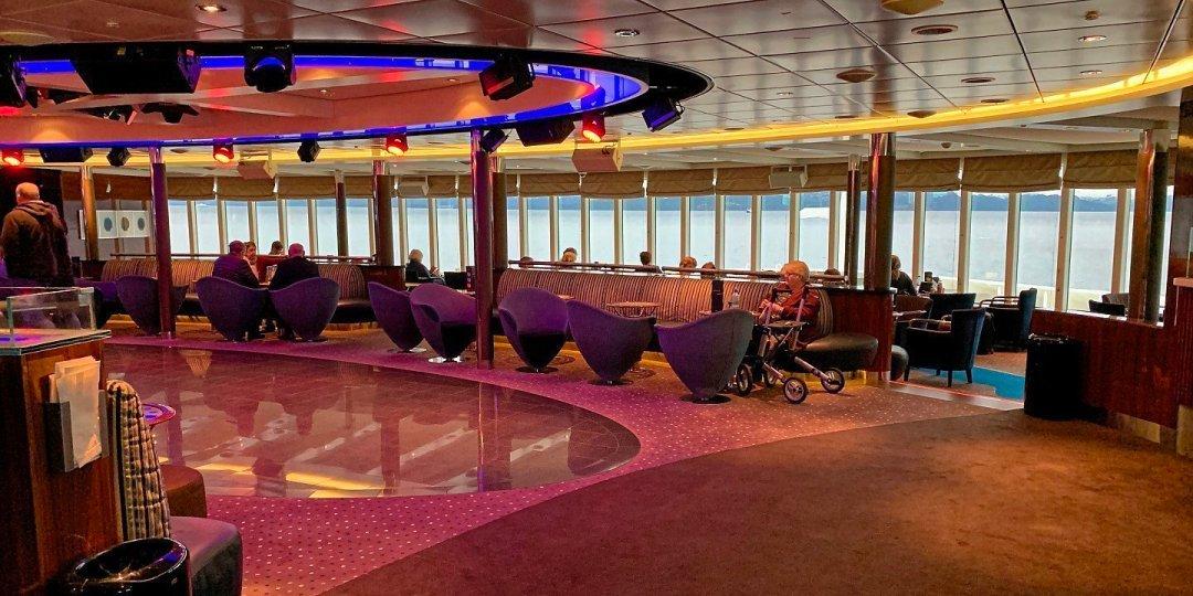 Fjord Lounge del Bergensfjord