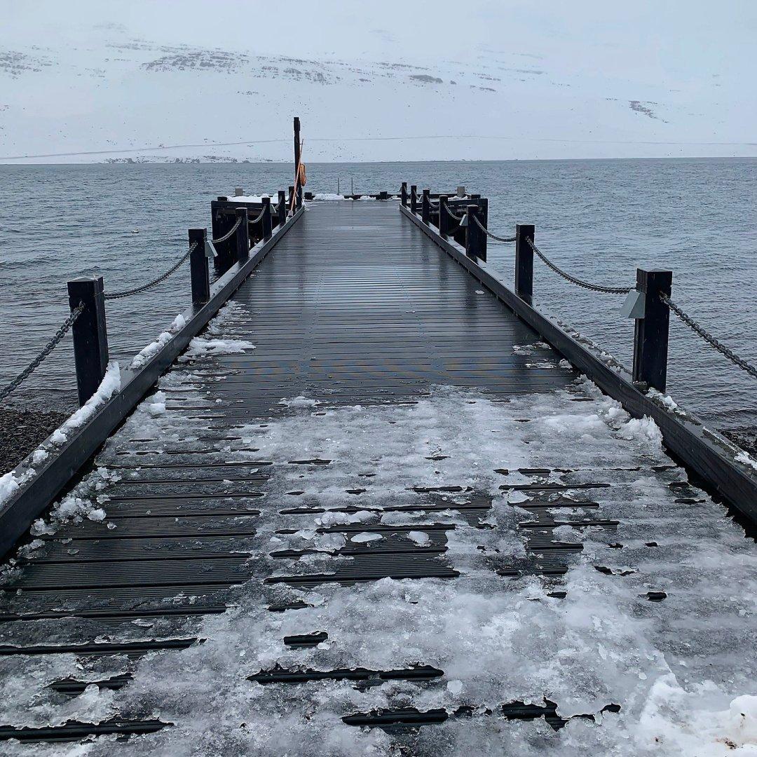 Embarcadero en Fáskrúðsfjörður
