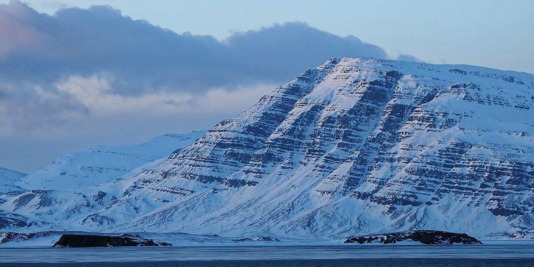 Montañas al sur del Álftafjörður