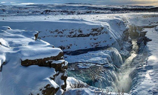 Gullfoss en invierno