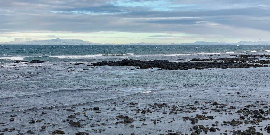 Bahía de Faxaflói desde Garður