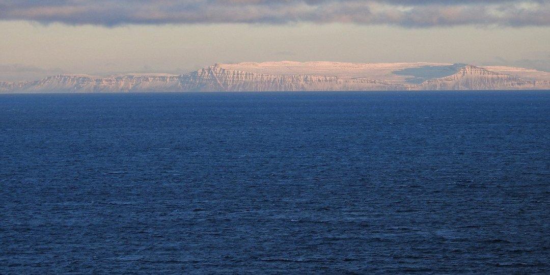 Costa meridional de Vestfirðir desde Snæfellsnes