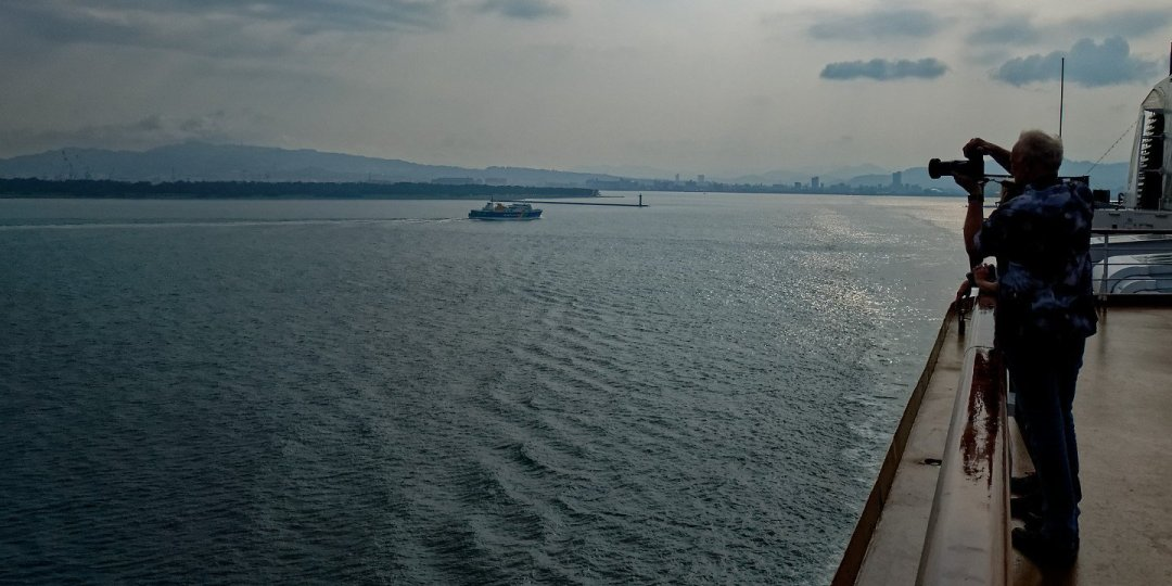 Zarpando de Shimizu