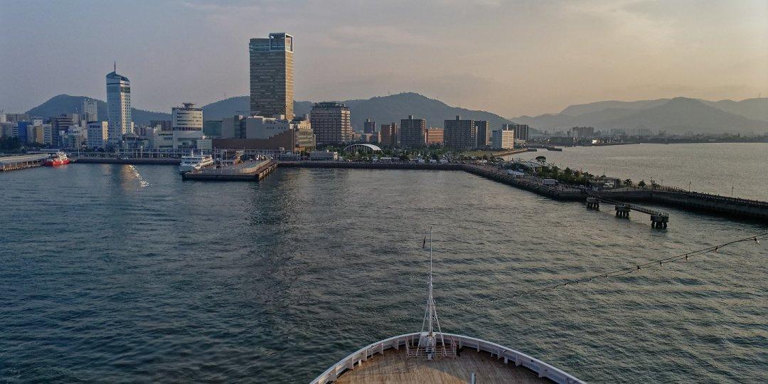 Zarpando de Takamatsu