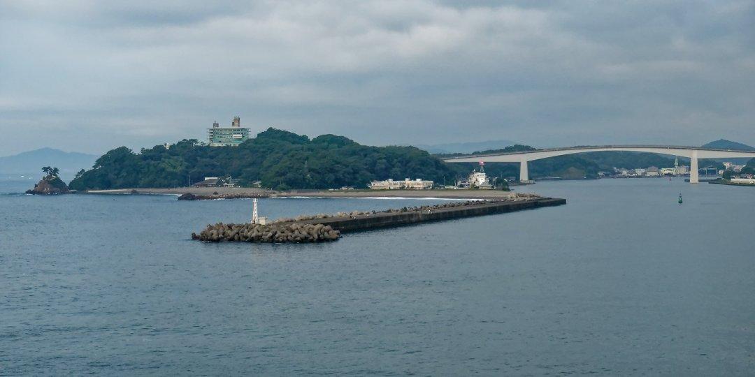 Katsurahama y puente de Urado