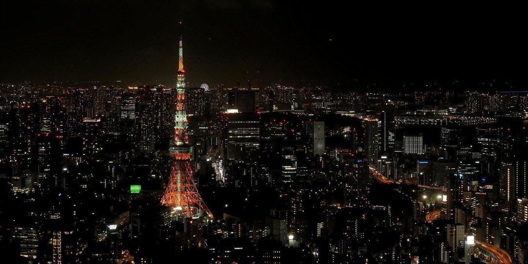 Tokyo Tower desde la Torre Mori