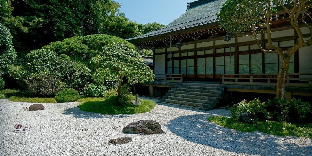 Karesansui de Hōkoku-ji