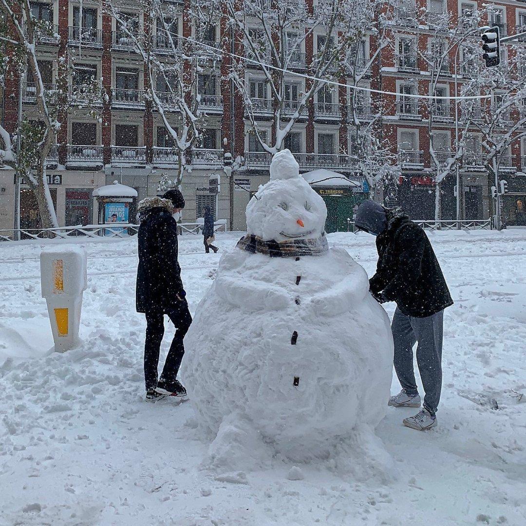 Muñeco de nieve en Princesa