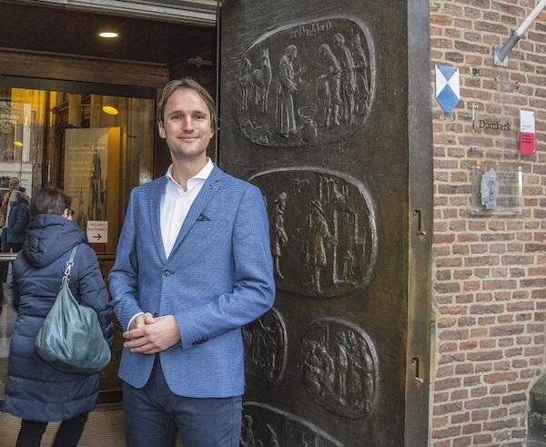 Willem Roskam nieuwe predikant Domkerk
