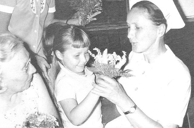 comemoração 100 anos Schwester Anita Pomerode
