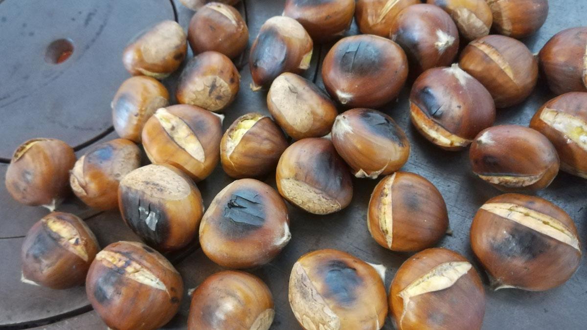 Receta de temporada: castañas asadas