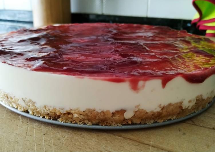 Receta de temporada: tarta de queso con frutos rojos